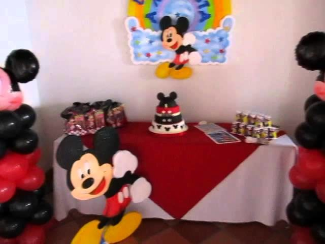 Decoracion infantil mickey mouse decoraci 243 n mickey - Fiesta tematica mickey mouse ...