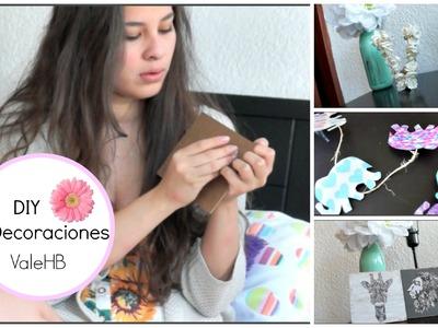 DIY - Decoraciones para tu cuarto ft. MariiMolly ♡