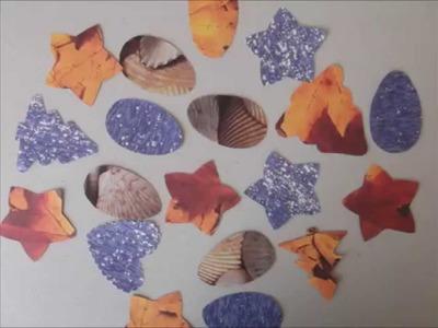 Figuras para decorar hechas de scrapbook - Creative Flower