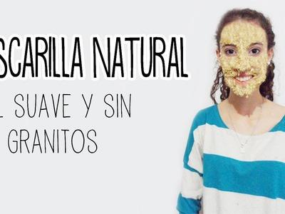 Mascarilla natural casera para la cara - Tutoriales Belen