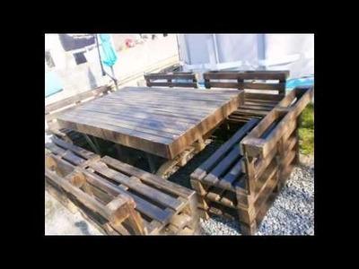 Reutilización de palets de madera