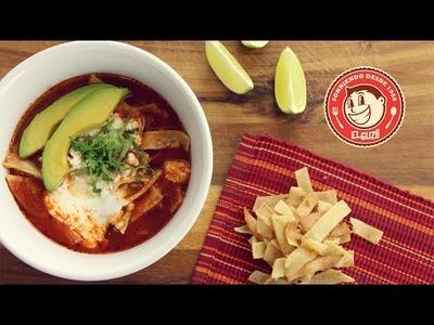 Sopa De Tortilla (Receta Fácil) - El Guzii