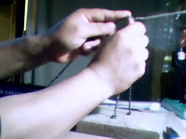 TUTORIAL PARA ESQUELETO DE ALAMBRE PARA FIGURAS DE PLASTILINA