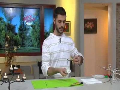 Árbol de velas con alambre , papel y Suprabond Transparente- Andrés Blanco-
