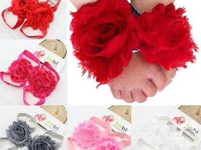 Adornos De Pies Para Bebés - Baby Diva Designs