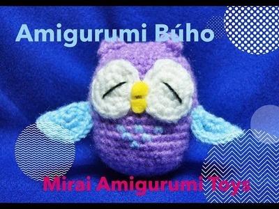 AMIGURUMI BÚHO