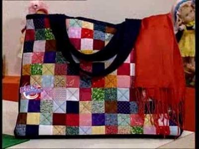 Carolina Rizzi  - Bienvenidas TV - Crea un bolso multicolor en patchwork.