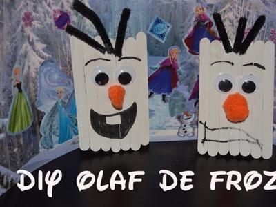 Como Hacer a Olaf el DE Frozen⛄️|DIY