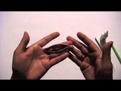Como hacer una mariposa 3D en filigrana