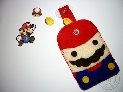 DIY Mario Bros de Fieltro.