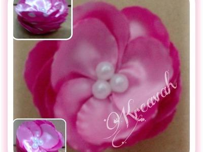 Flor de círculos de doble vista con corcholatas