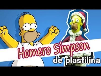Homero Simpson de Plastilina (Especial Navideño)