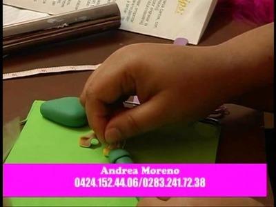 Ideas Creativas - Andrea Moreno - Espanta pajaros de masa flexible