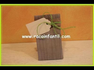 Ideas para decorar bolsas de papel: Parte I (www.racoinfantil.com)