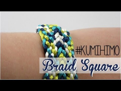 KUMIHIMO PLATE #2 - KUMIHIMO CUADRADO #2