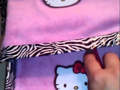 MANUALIDADEs Hello Kitty bed organiser