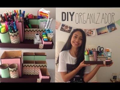 Organizador para escritorio I DIY