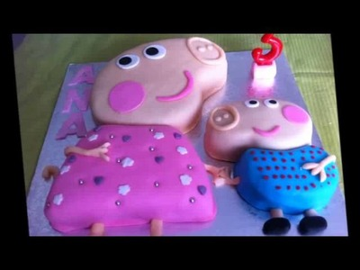 Tartas de Peppa Pig