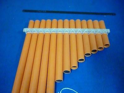 Tutorial - Como fabricar una Zampoña cromática con tubos de PVC de 16 mm