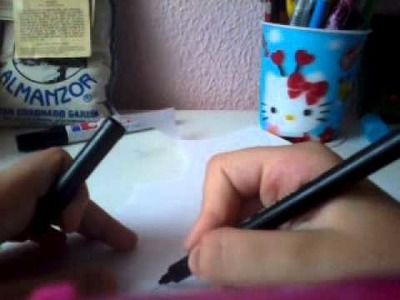 Como hacer plantillas para tus figuras de goma eva