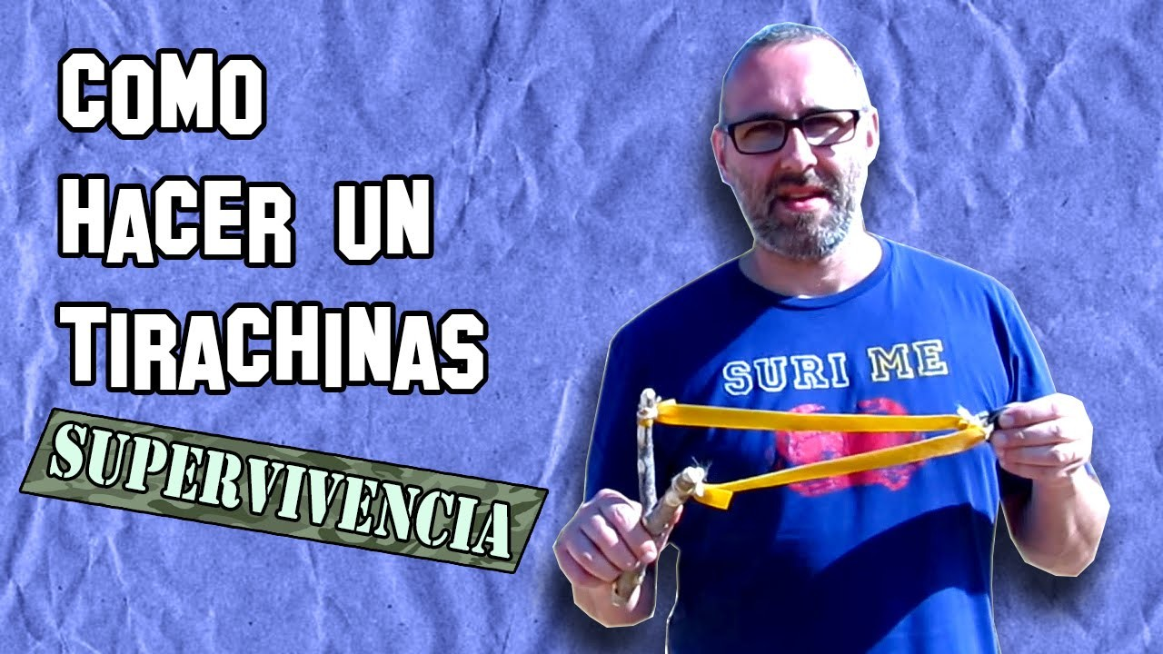 ✔ Cómo Hacer un Tirachinas de Supervivencia | How to Make a Survival Slingshot