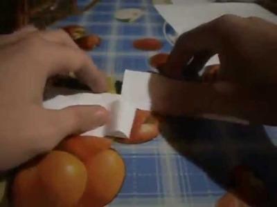 Como hacer una hélice de papel, paso a paso.