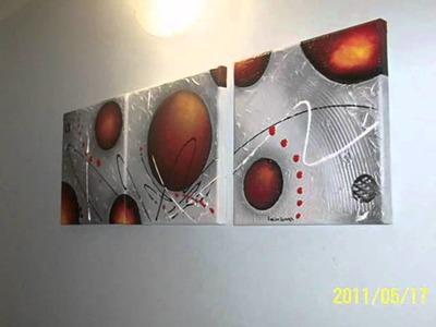 Cuadros abstractos modernos lo mas nuevo my crafts and - Cuadros minimalistas modernos lo ultimo arte ...
