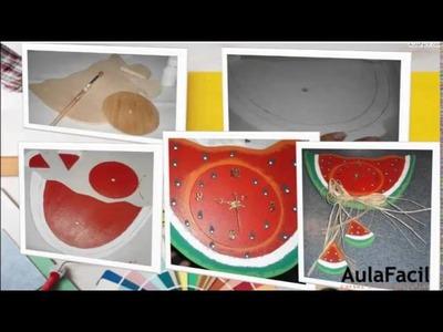 Madera Country.Vaquita Revistero.Manualidades en Madera Country.AulaFacil.com