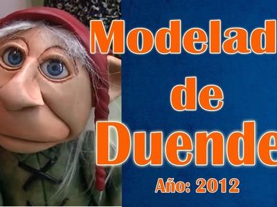 Modelado de duendes en masilla  epoxi video muestra (por Roberto Benitez)