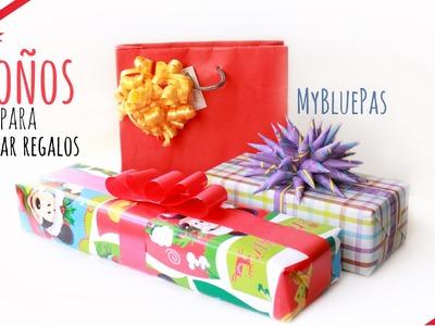 Moños lindos y faciles Para Decorar regalos -