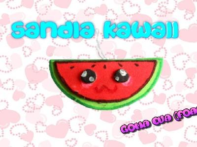 SANDIA KAWAII DE GOMA EVA (Foamy)