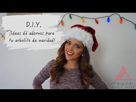 4 Adornos para decorar tu Árbol de Navidad  DIY