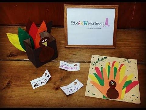 Acción de Gracias: Manualidad con sentido♥. thanksgiving diy