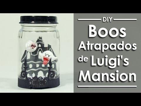 Boos atrapados de Luigi's Mansion -DIY