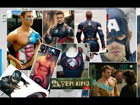 Capitán América civil war t-shirt DIY playera