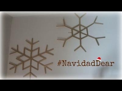 DIY: Copos de nieve   DearSophie