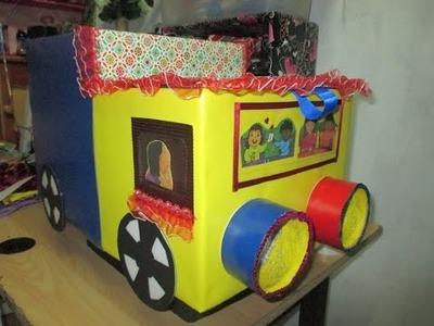 DIY: juguetero para niño