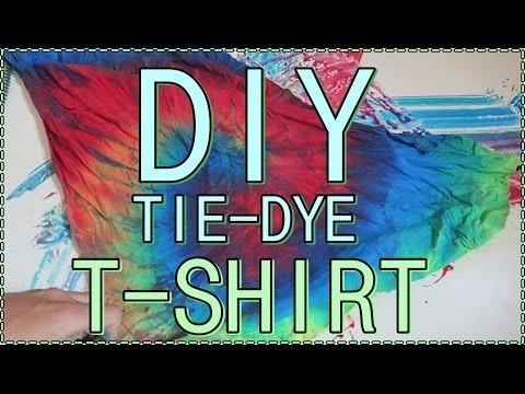 DIY | TIE-DYE T-SHIRT || HEY MIKE