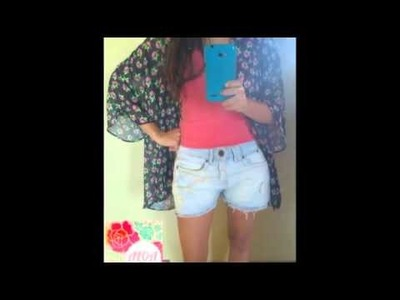 DIY - Transforma tu ropa.de falda a short en minutos By: Aloa