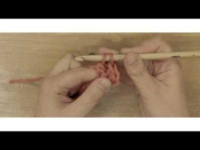 Aprende ganchillo con DMC: Punto alto
