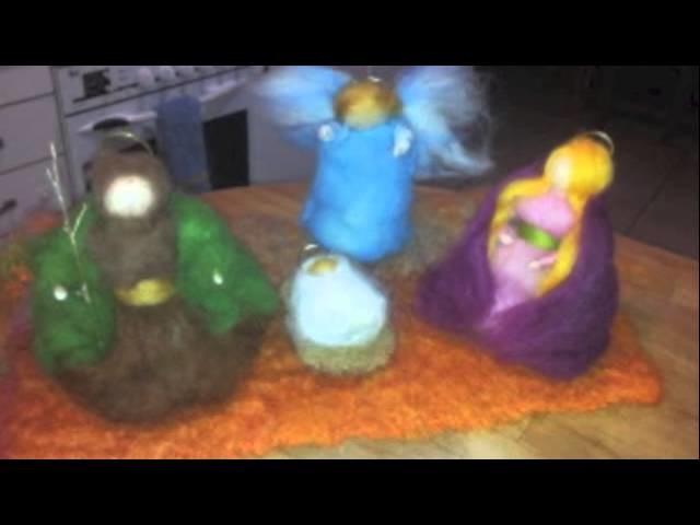 Belenes de lana | Marchenwolle | Talleres de belenes, marchenwolle y crochet