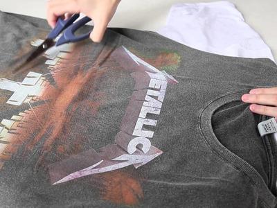 #blogringCH: Gi Ferrarezi ensina a customizar camisetas de banda para o LollaPalooza