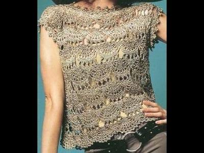 Calado Abanicos Mediano A Crochet