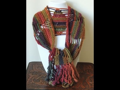 Crochet : Bufanda de Diamantes