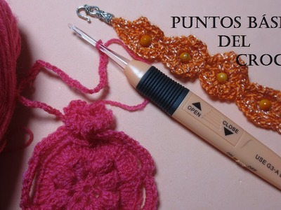 Crochet puntos básicos