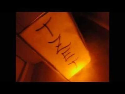 DIY. Japanesse Lamps ♥ Manualidades. Lamparas Japonesas