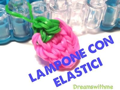 DIY lampone con elastici