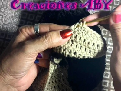 Gorro de Dora la Exploradora a Crochet 4ta parte