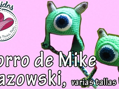 Gorro tejido de Mike Wazowski Monsters Inc.- TUTORIAL