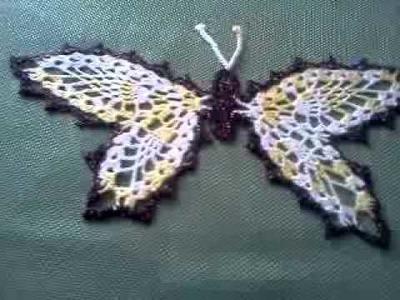Mariposa en croche